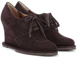 Bottega Veneta Suede Derby shoes