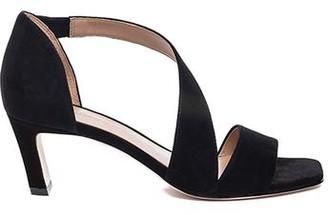 Bernardo Camille Black Cross-Strap Sandal