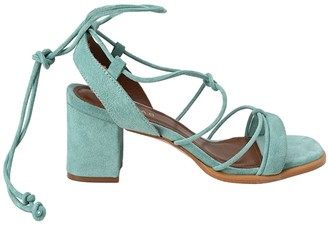 ALOHAS Sophie Suede Heeled Sandals