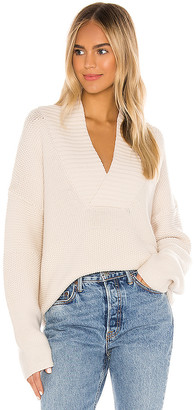 Equipment Jaelyn V Neck Sweater
