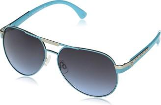 Rocawear Women's R558 Metal UV Protective Aviator Sunglasses