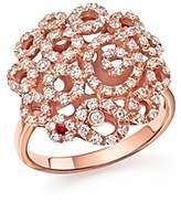 Roberto Coin 18K Rose Gold Moresque Diamond Ring