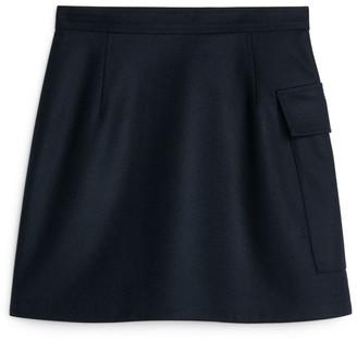 Arket Melton Wool Wrap Skirt
