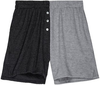 DONNI Duo Henley Shorts