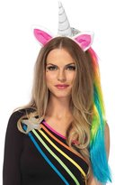 Leg Avenue Magical Unicorn Headband with Rainbow Wig Mane