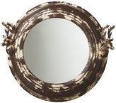 Asstd National Brand Distressed Stag Wall Mirror