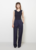 Maison Margiela Wool Wide Leg Trouser