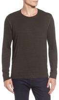 Velvet by Graham & Spencer Men's Modern Trim Marled Long Sleeve T-Shirt