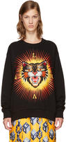 Gucci Black Angry Cat modern Future Sweatshirt