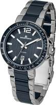 Jacques Lemans Men's Quartz Watch Milano 1-1711C with Metal Strap