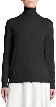 Stella McCartney Lightweight Knit Turtleneck Sweater