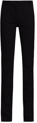The Row Roosevelt Slim-fit Tailored Trousers - Womens - Black