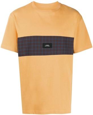 PACCBET logo-patch contrast T-Shirt