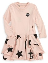 Nununu Infant Girl's Layered Star Dress