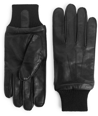 Arket Leather A-10 Flight Gloves