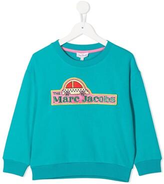 The Marc Jacobs Kids Logo Embroidery Sweatshirt