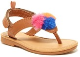 Carter's Faux Fur Pompom Sandal (Toddler & Little Kid)
