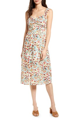 Lost + Wander Renee Floral Print Sundress