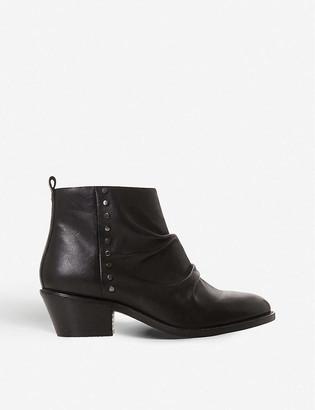 Bertie Praydon stud-embellished leather boots