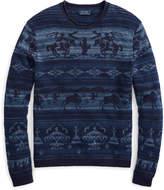 Ralph Lauren Intarsia Cotton-Blend Sweater