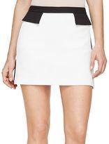 BCBGMAXAZRIA Kaela Tuxedo Mini Skirt