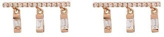 Shay 18kt rose gold Chime diamond earrings