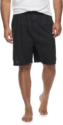 Hanes Big & Tall Ultimate Soft Waffle-Knit Pajama Shorts