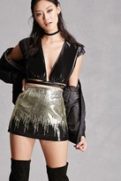Forever 21 FOREVER 21+ Sequined Mini Skirt