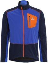 Salomon Equipe Sports Jacket Big Bluex/blue Yonder/vivid Orange