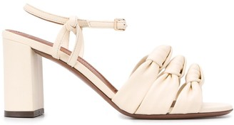 L'Autre Chose Knot Detail Sandals