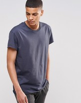 Selected Raw Hem Oversized T-Shirt