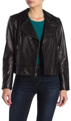 Andrew Marc Leah Leather Jacket
