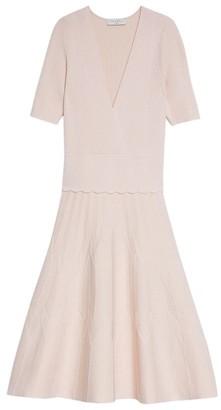 Sandro Paris Knitted Mini Dress