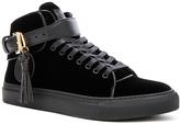 Buscemi 100MM Tassel Velvet Sneakers