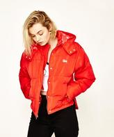 Stussy Os Cropped Puffa Red