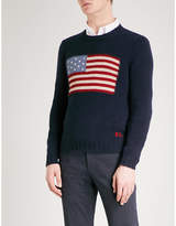 Ralph Lauren Purple Label Flag cashmere jumper