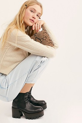 Jeffrey Campbell Preston Platform Ankle Boots by at Free People