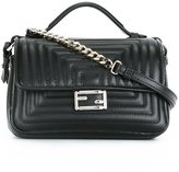 Fendi micro 'Double Baguette' crossbody bag - women - Calf Leather - One Size