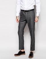 Asos Skinny Fit Suit Pants In Tweed