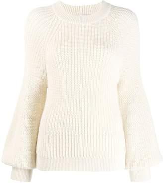 Pringle blouson sleeve sweatshirt