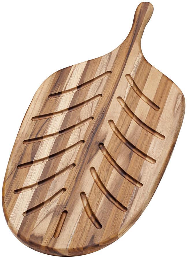 Teakhaus TeakHaus - Small Canoe Bread Board