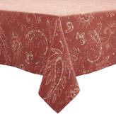 Sur La Table Persimmon Paisley Tablecloth