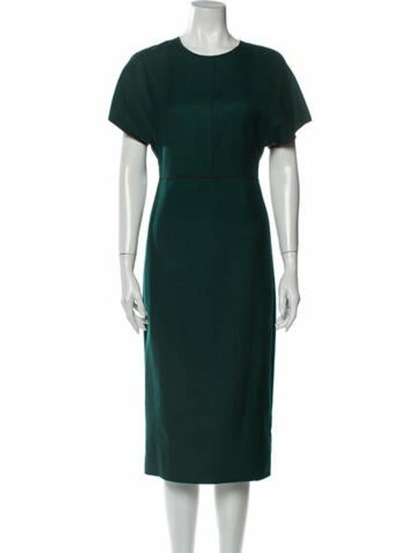 Narciso Rodriguez 2019 Midi Length Dress Green