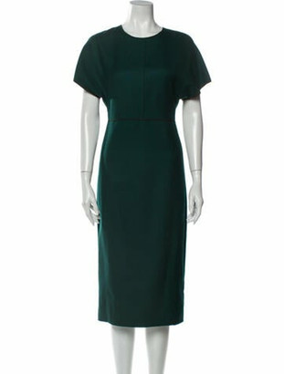 Narciso Rodriguez 2019 Midi Length Dress Green