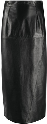 Simonetta Ravizza Straight-Fit Midi Skirt
