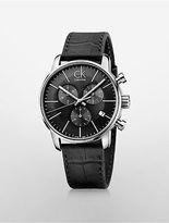 Calvin Klein Womens City Chronograph Watch Black