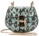 Chloé Drew leather clutch bag