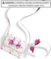 On the Verge 2-Pc. Headband & Floral Bunny Purse Set, Little & Big Girls