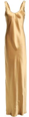 Nili Lotan Bazile Silk-satin Gown