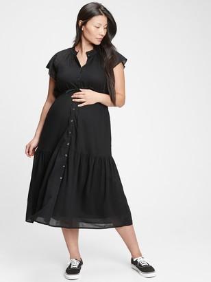 Gap Flutter Midi Dress